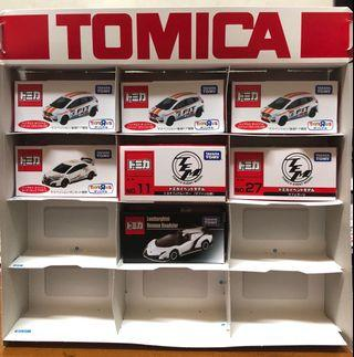 Tomica Honda Fit and Tomica Event Model