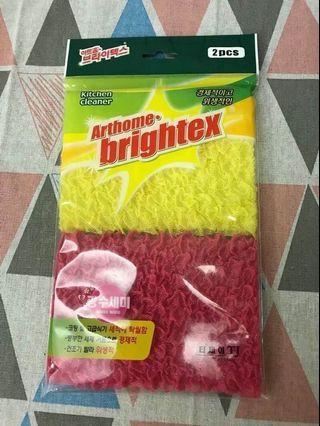 韓國 輕鬆起泡高級菜瓜布 (1包內2入)