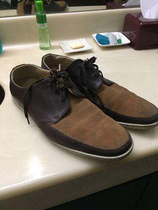 Fred Perry Original Oxford Shoe Style Brown
