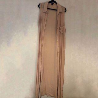 Nude tank cover up