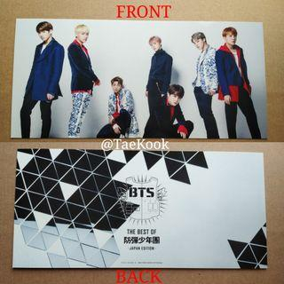 [SALE] BTS THE BEST OF - JAPAN EDITION PC