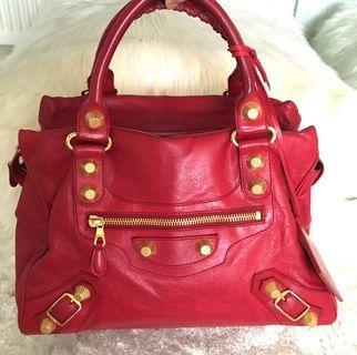 AUTHENTIC Balenciaga Midday Bag GHW