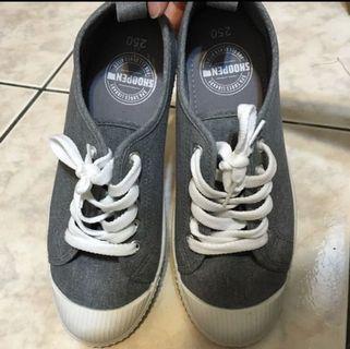 韓國🔥時尚品牌SHOOPEN綁帶布鞋