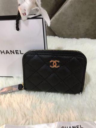 Chanel Purse zipper closure