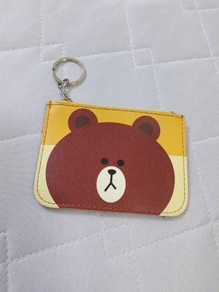 熊大卡片零錢包