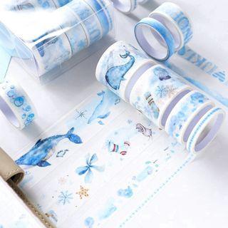 [WT] 10pcs washi tape set/box 18 🌻