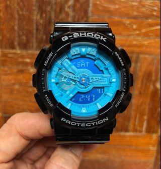 Casio G-Shock GA 110B blue