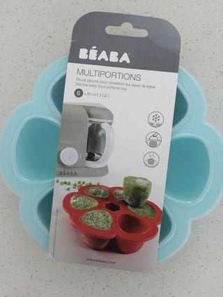 BEABA Multiportions™ Silicone baby food Tray - Sky 3oz/90ml
