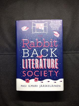 The Rabbit Back Literature Society By Pasi Ilmari Jaaskelainen