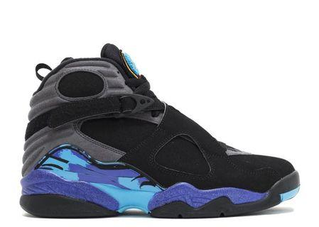 Air Jordan Retro 8 Aqua in Size 5