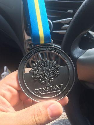 5km Fun Run medal run Constant