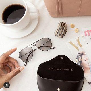 美國網紅高品質品牌DIFF飛行墨鏡 獨家販售 全新全套雷朋類似款