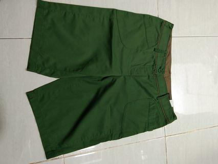 Celana Pendek Hijau chatelaine