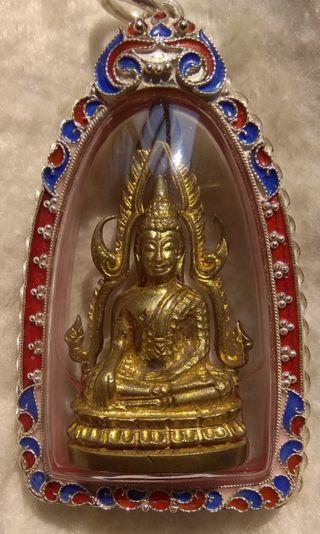 Phra Jinarak Wat Pisanulok Mass Chanted Comes with  Certificate.