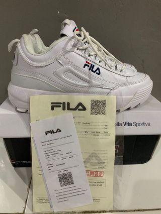 Sepatu FILA Disruptor II White