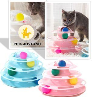 NEW!!! Tower of Tracks Cat Toy