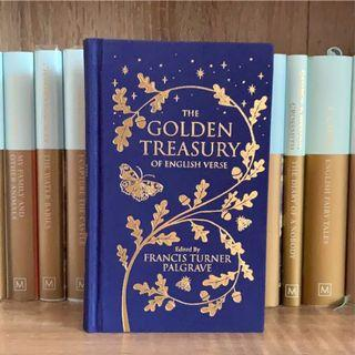 🇬🇧英詩選集 全新精裝 英文原文詩集桂冠詩人 The Golden Treasury Poetry Poem