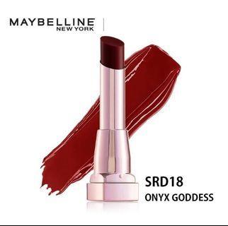 Maybelline Shine Compulsion Lipstick - Onyx Goddess