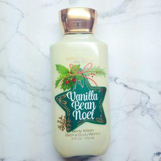 Bath & Body Works 身體乳 乳液 Vanilla bean noel