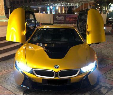 BMW I8 for rental