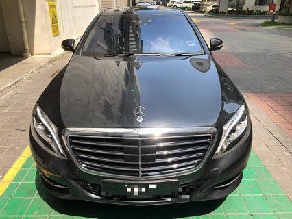 Mercedes s400 for rental