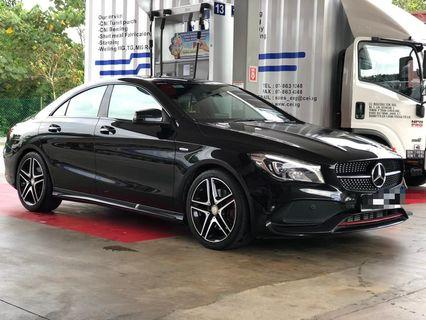 Mercedes cla250 for rent