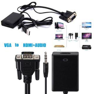 VGA to HDMI with Audio Adapter