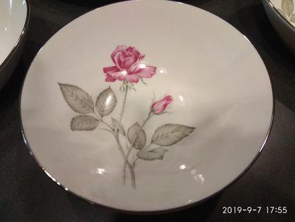 Rare Zlystra Rose chinaware