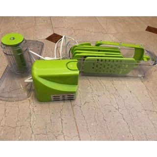Sparsely used vegetable chopper available