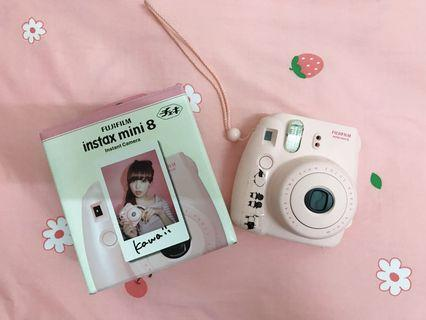 二手轉賣✨FUJIFILM instax mini8 Instant Camera