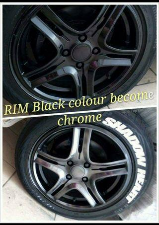 Promo Sales Instant Chrome Powder for Instant Chrome Rims, Chrome Body Kit, Chrome Mirror