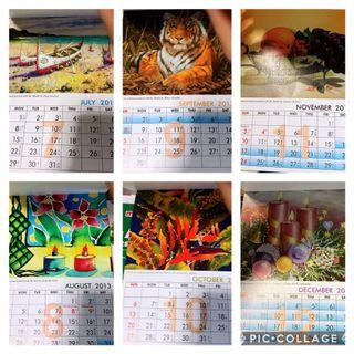 Art Calendar for Upcycling