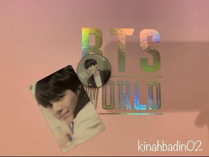 BTS WORLD MAGNET & STORY CARD (suga)