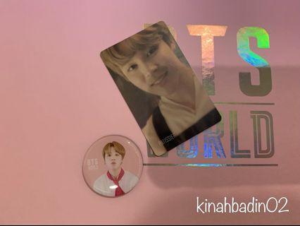 BTS WORLD MAGNET & STORY CARD (jimin)