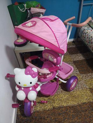 (CLEARANCE) Hello Kitty Tricycle