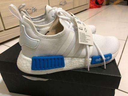 Adidas NMD白藍