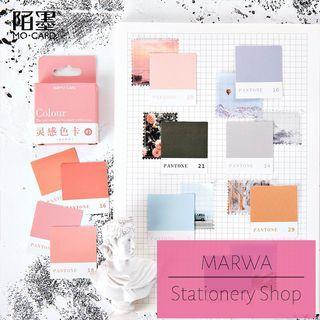 45pcs Colourful Label Tags Sticker Pack (Mo Card- MC0082)