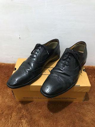 Cuma 100ribuan Sepatu Kulit Formal Gino Mariani