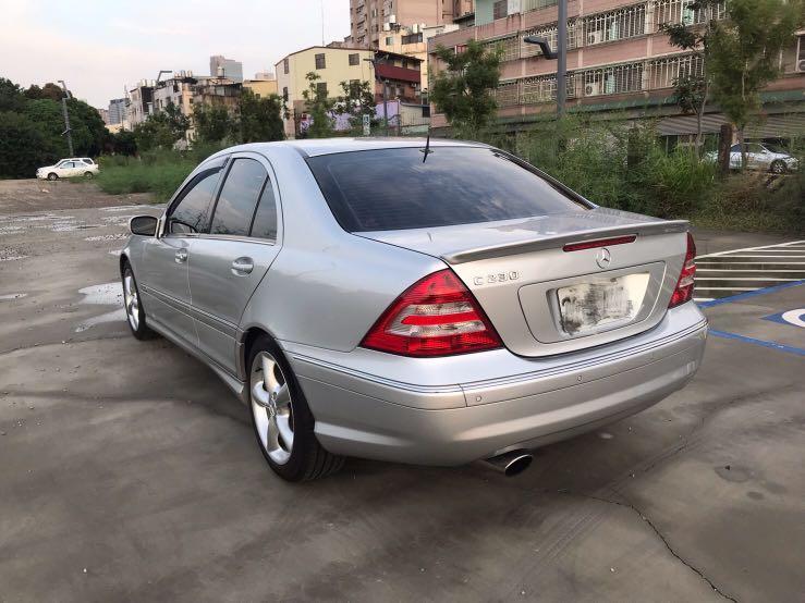 2005年 Benz C230k  1.8cc機械增壓