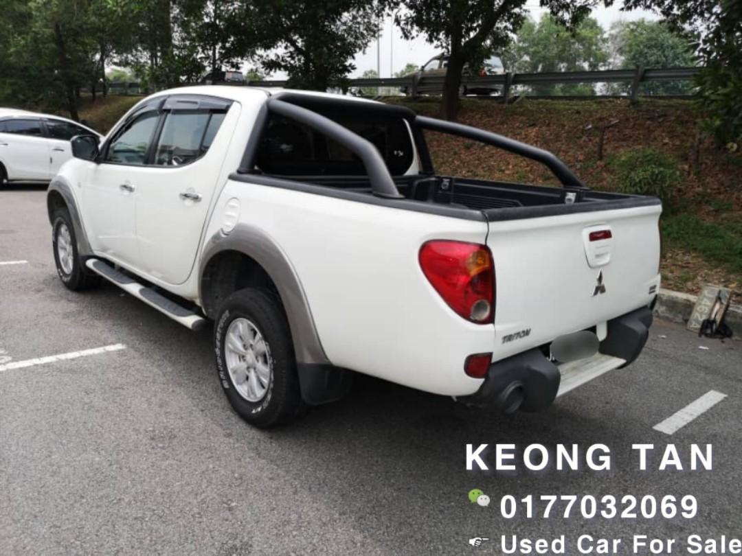 2012TH🚘MITSUBISHI TRITON 2.5MT 4X4/Diesel TURBO Engine JohorPlate🎉Cash OfferPrice💲RM37,500 Only‼LowestPrice InJB🎉📲 Keong‼🤗