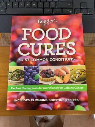 Book - Reader's digest Food Cures