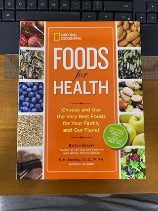 Book - National Geographic Foods for Health