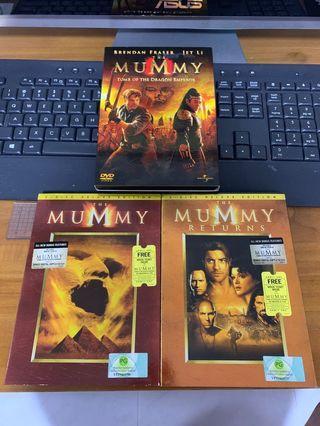 DVD MOVIES - The Mummy Trilogy