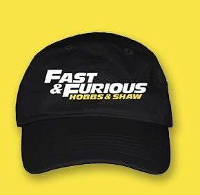 Fast and Furious Hobbs & Shaw Official Movie Premium Cap Hat Snapback