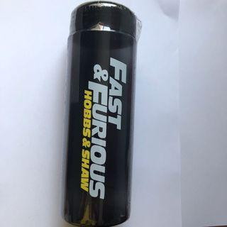 Fast and Furious Hobbs and Shaw Water Bottle
