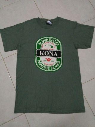 Kona Hawaii Tshirt.