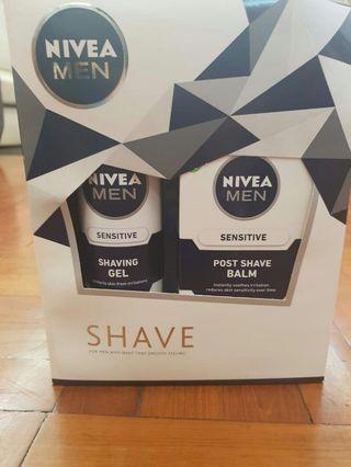 Nivea 男士 shaving gel shaving cream 剃鬚膏