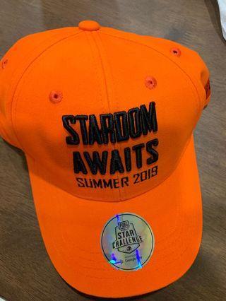 絕地求生PUBG star challenge Stardom awaits summer 2019橘色球帽 絕地求生