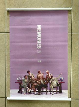 Wts bts official memory poster