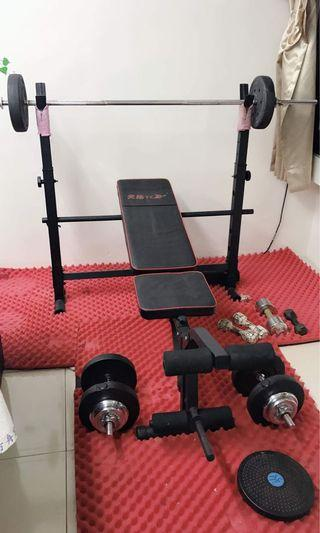 Gym equiptment